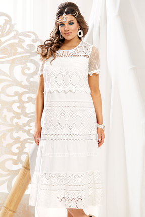 Платье Vittoria Queen 11003 молочный
