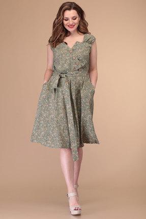 Платье Danaida 1871 оливковый