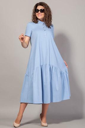 Платье Сч@стье 7100 голубой