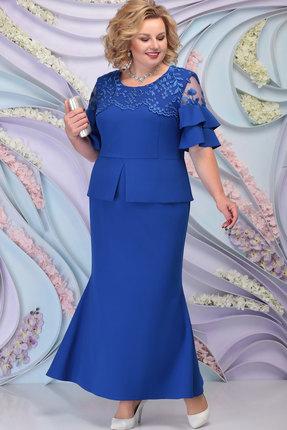 Платье Ninele 3100 василёк
