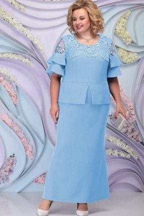 Платье Ninele 3100 голубой