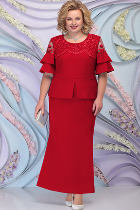 Платье Ninele 3100 красный