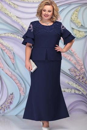 Платье Ninele 3100 тёмно-синий