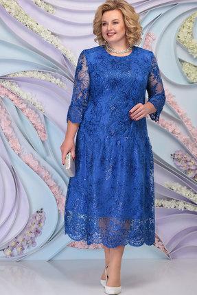 Платье Ninele 7293 василёк