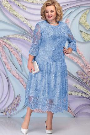 Платье Ninele 7293 голубой