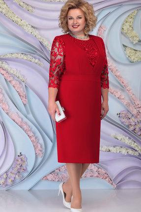 Платье Ninele 7294 красный