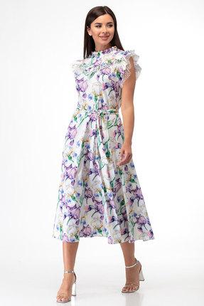 Платье Anelli 862 мультиколор