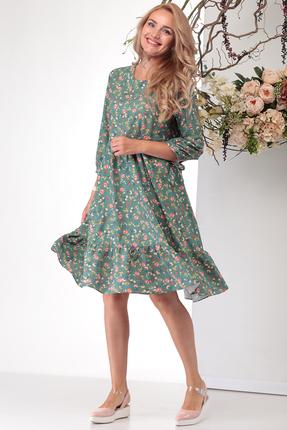 Платье Michel Chic 994 зеленые тона