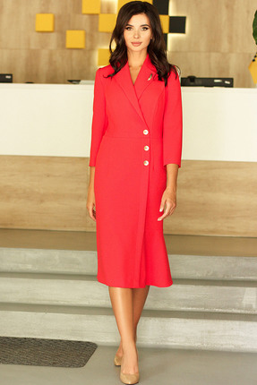 Платье Мода-Юрс 2430 коралловый