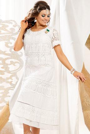 Платье Vittoria Queen 11063 белый фото