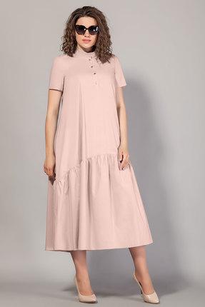 Платье Сч@стье 7100-р пудра