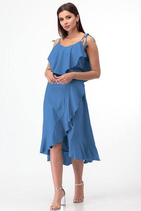 Сарафан Anelli 726 голубой