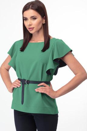 Блузка Anelli 280 зеленый лесной