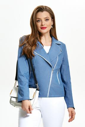 Куртка TEZA 1238 голубые тона