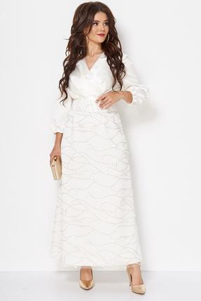 Платье Anastasia Mak 740 молочный