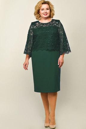 Платье Elga 01-670 зелень