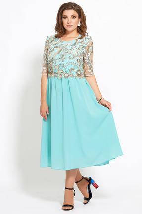 Платье Мублиз 449 ментол