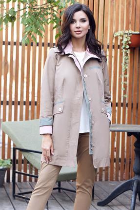 Куртка Мода-Юрс 2572 бежевые тона