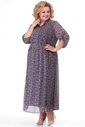 Платье KetisBel 1421 мультиколор
