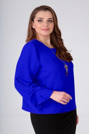 Блузка Таир-Гранд 62365 синий