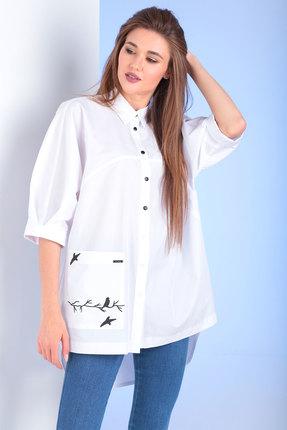 Блузка Viola Style 1106 белый