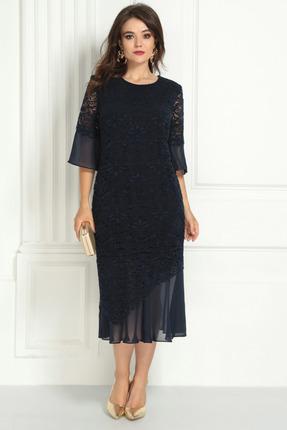 Платье Solomeya Lux 725 темно-синий