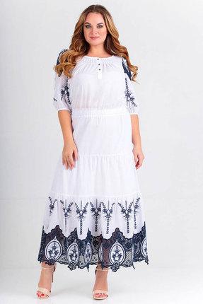 Платье Euromoda 276 молочные тона
