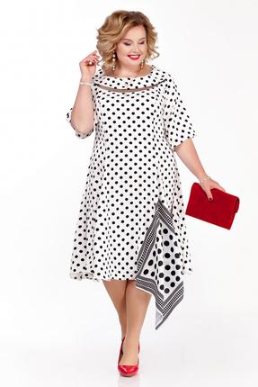 Платье Pretty 1108 черно-белый
