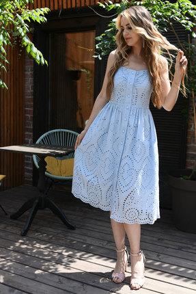 Сарафан Andrea Fashion AF-16-5 голубой