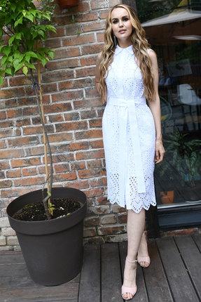 Платье Andrea Fashion AF-18-6 белые тона