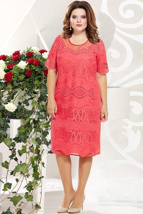 Платье Mira Fashion 4825 коралл