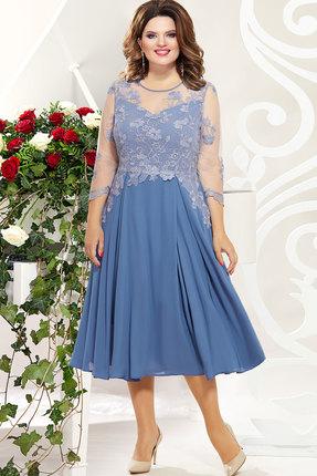 Платье Mira Fashion 4829 василёк
