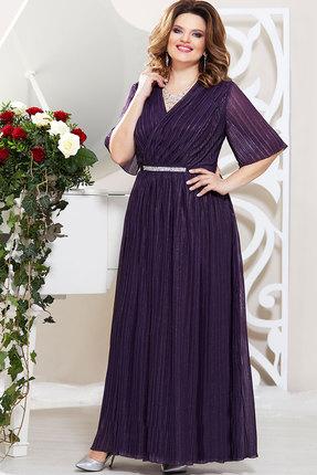 Платье Mira Fashion 4832 тёмно-синий