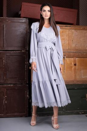 Платье ЮРС 20-424-1 нежно-голубой