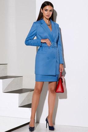Комплект юбочный Lissana 4109 голубой