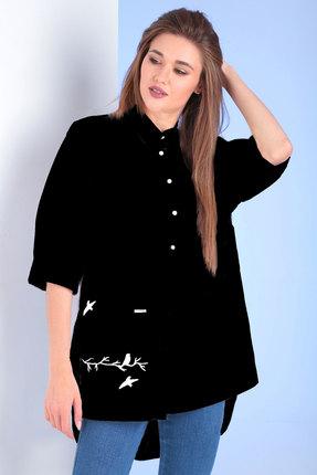 Блузка Viola Style 1106 чёрный