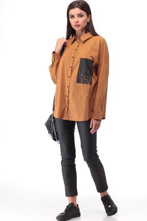 Блузка ТАиЕР 883 карамельный фото