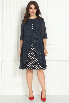 Платье Solomeya Lux 722 темно-синий