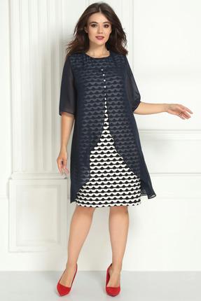 Платье Solomeya Lux 723 темно-синий