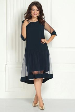 Платье Solomeya Lux 726 темно-синий