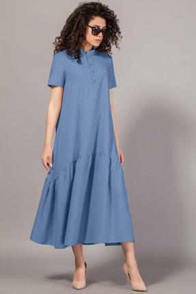 Платье Сч@стье 7078-5 голубой