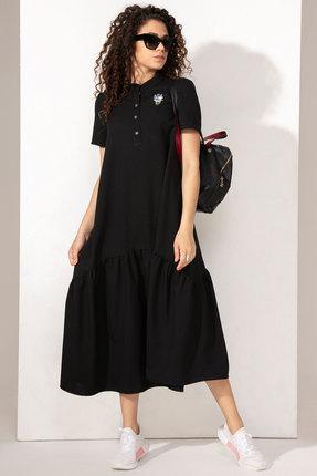Платье Сч@стье 1014-1 чёрный