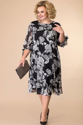 Платье Romanovich style 1-2043 черный