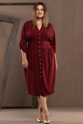 Платье Deesses 1029 бордовый
