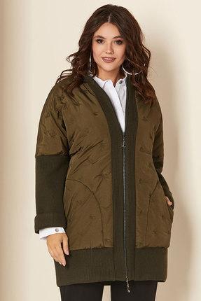 Куртка Andrea Style 00275 хаки