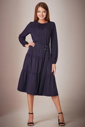 Платье Andrea Fashion AF-28 синий