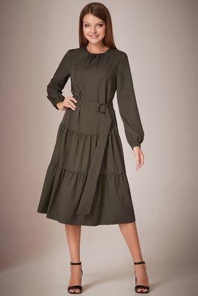 Платье Andrea Fashion AF-28/1 хаки