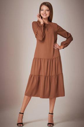 Платье Andrea Fashion AF-28/1 шоколад