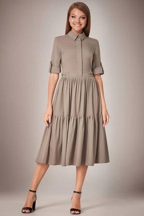 Платье Andrea Fashion AF-31 серый
