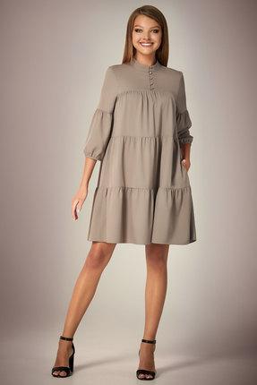 Платье Andrea Fashion AF-34 серый